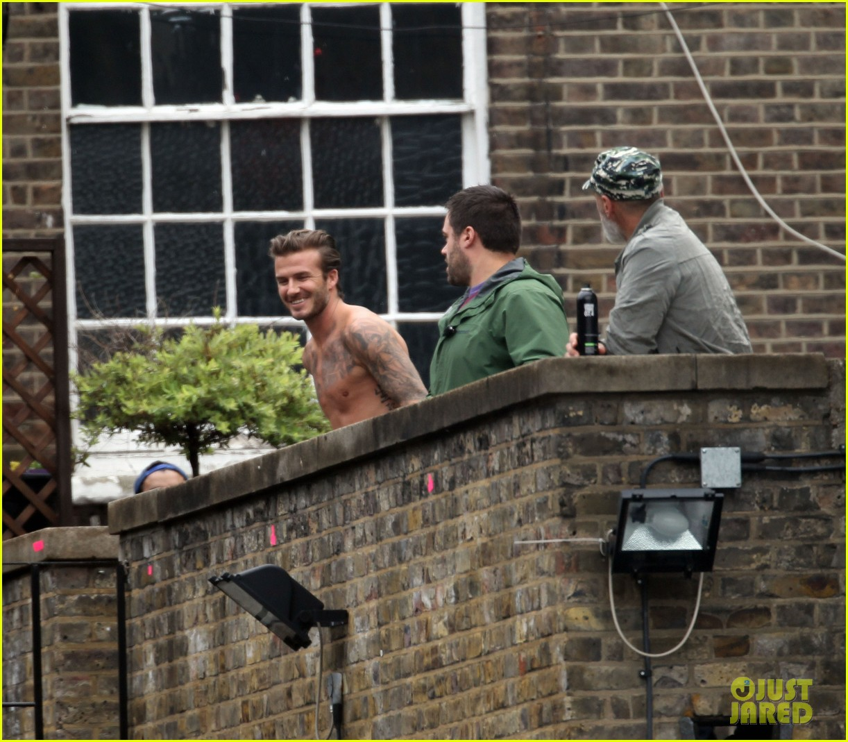 david beckham shows underwear shirtless body flies through air for hm 162964525