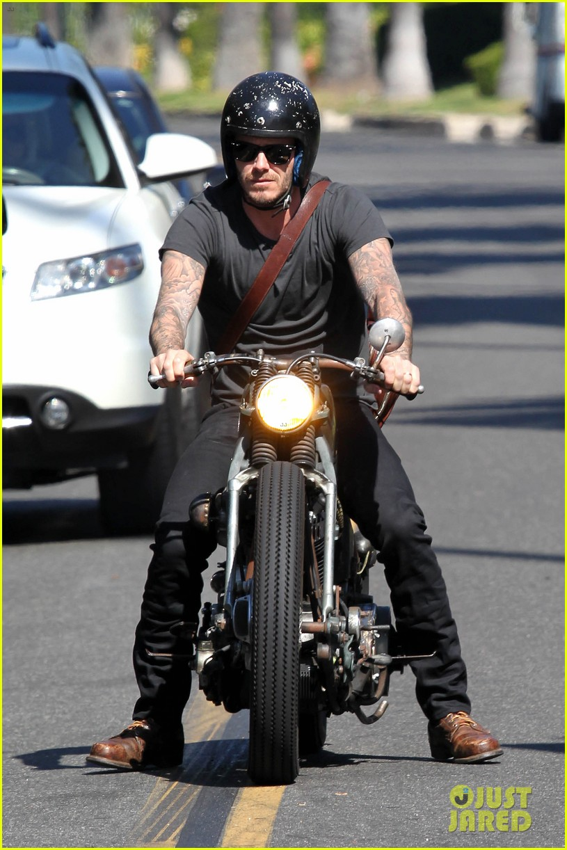 david beckham rides motorcycle in los angeles all week 022975302