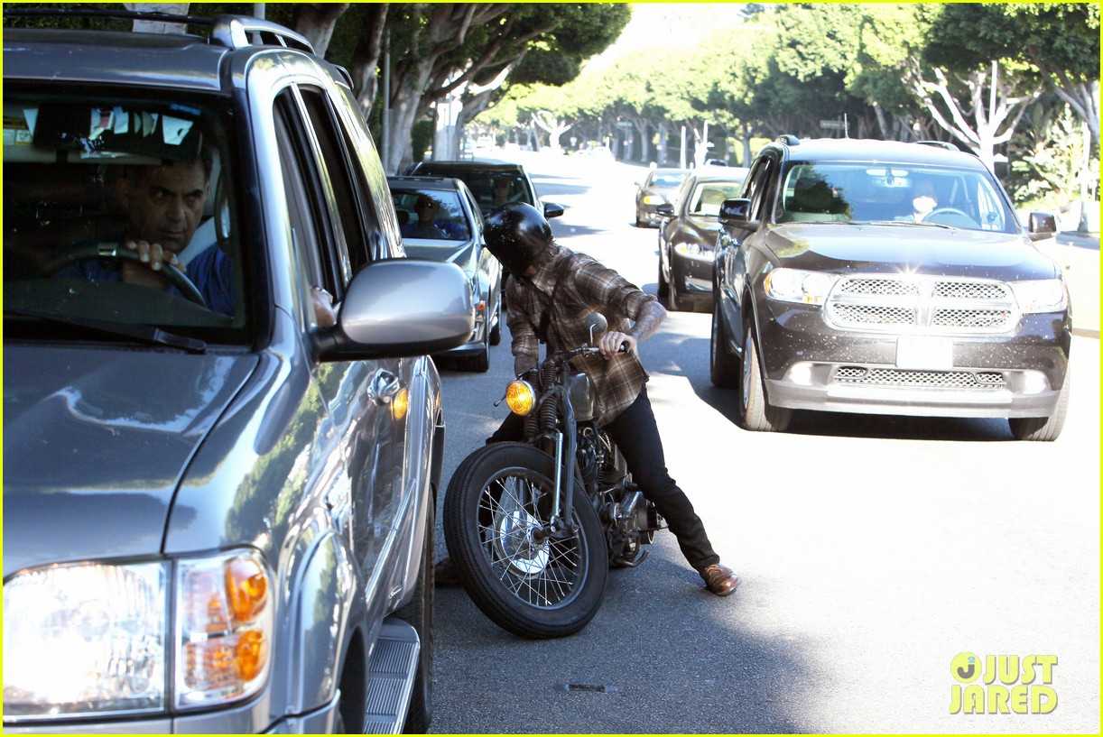 david beckham rides motorcycle in los angeles all week 032975303