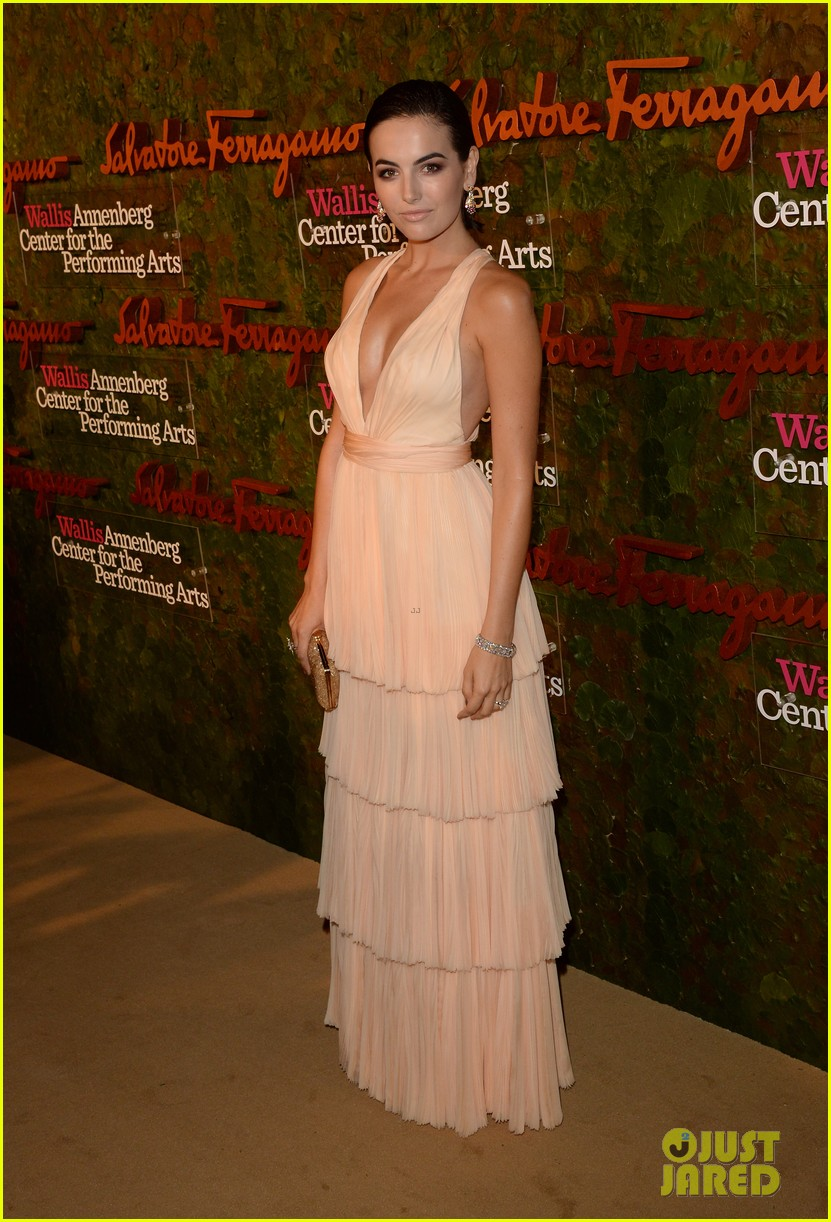 camilla belle joe jonas reunite at annenberg center gala 012974070