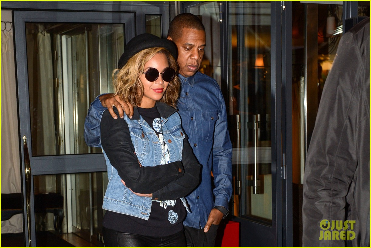 beyonce jay z dinner date in paris 032971591
