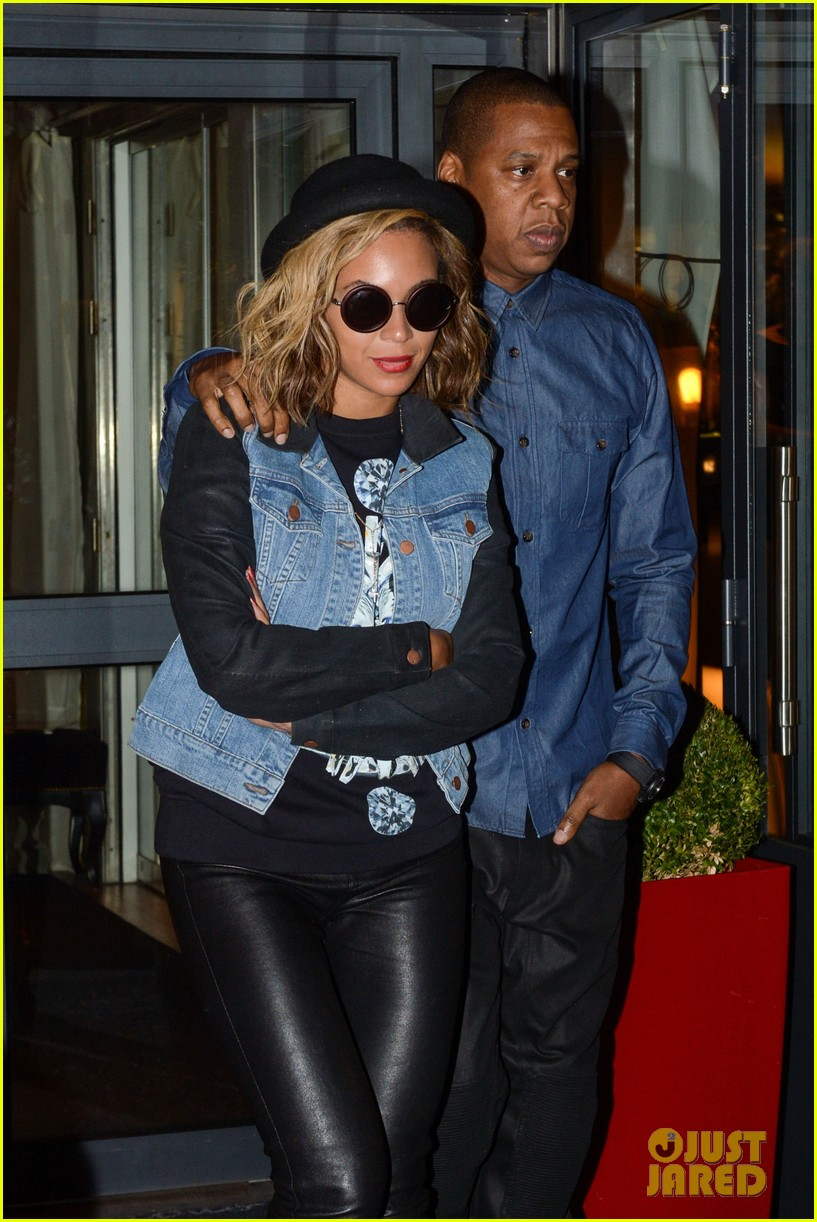 beyonce jay z dinner date in paris 042971592