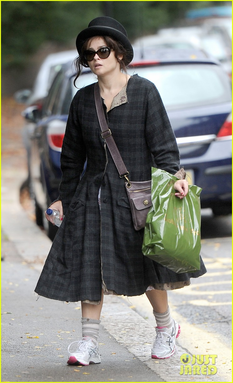 helena bonham carter steps out after tim burton cheating rumors 032965930