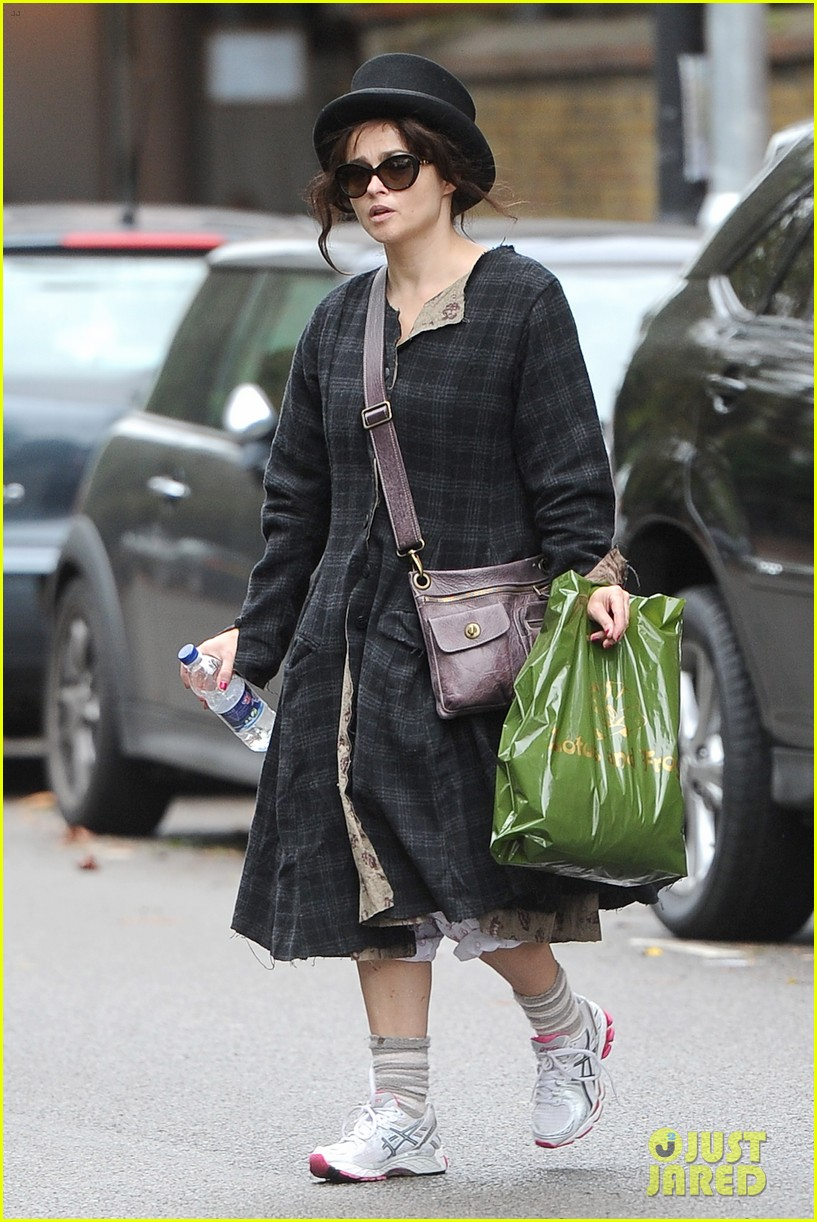 helena bonham carter steps out after tim burton cheating rumors 142965941