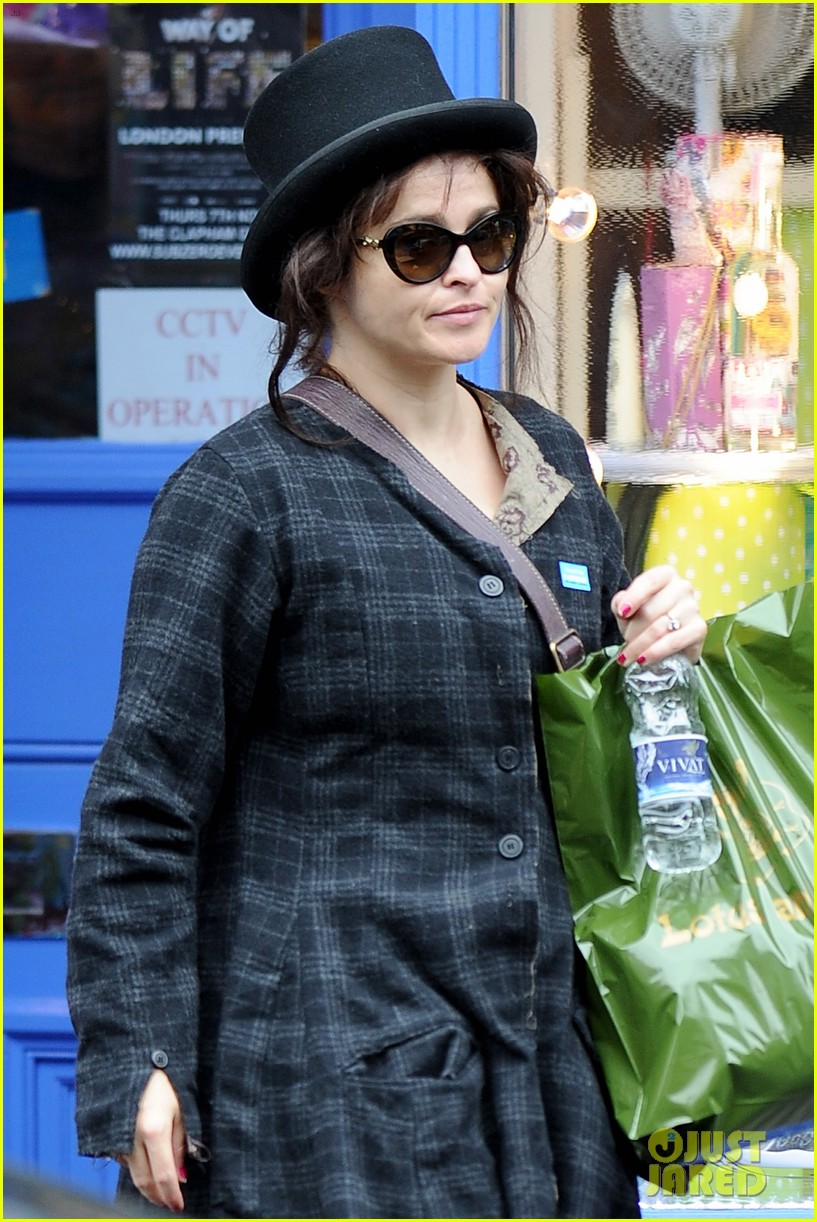 helena bonham carter steps out after tim burton cheating rumors 17
