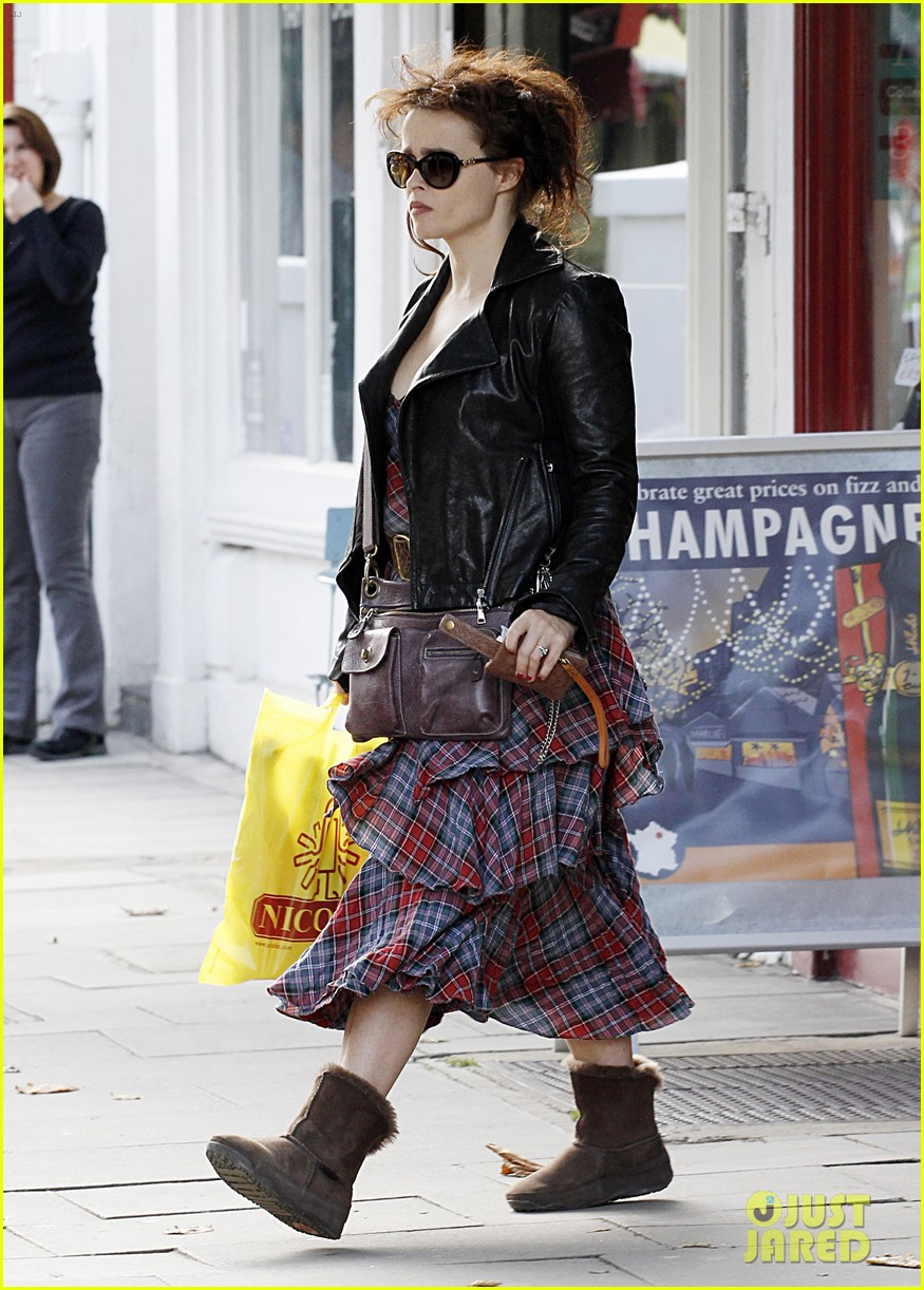 helena bonham carter steps out after tim burton cheating rumors 242965951