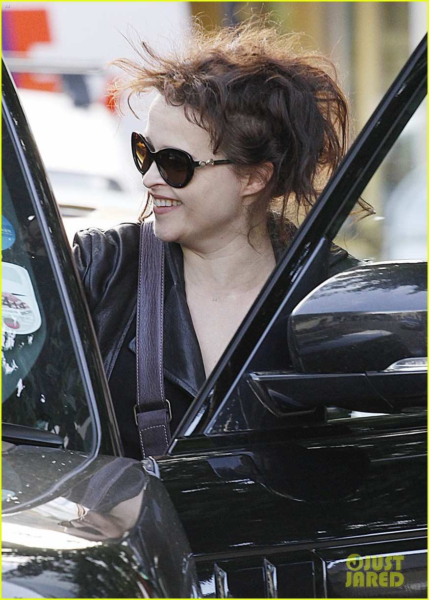 helena bonham carter steps out after tim burton cheating rumors 272965954