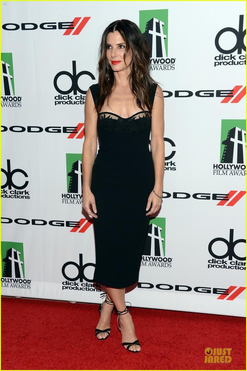 sandra bullock olivia munn hollywood film awards 2013 242976643