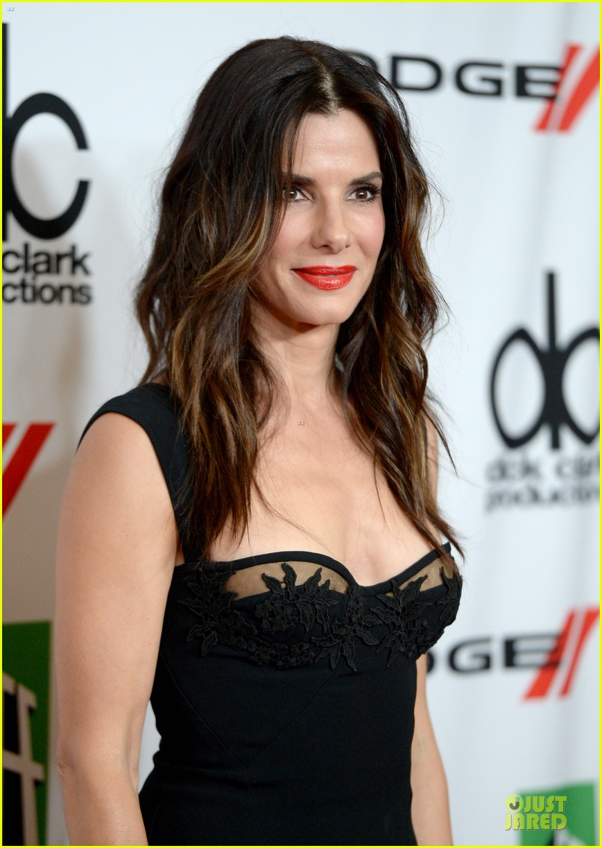sandra bullock olivia munn hollywood film awards 2013 272976646