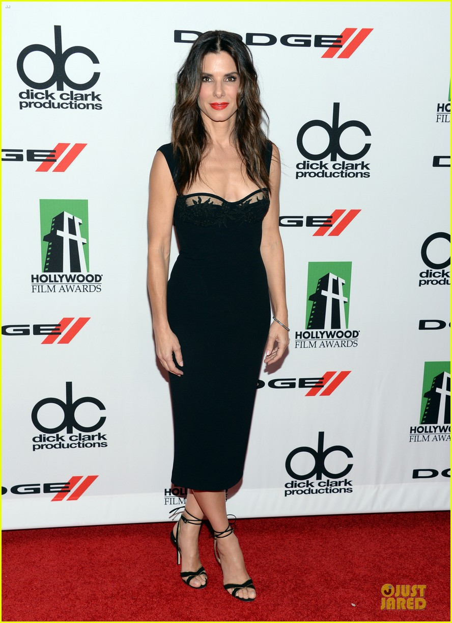sandra bullock olivia munn hollywood film awards 2013 292976648