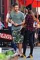 gerard butler meets up with gal pal in the meatpacking district 01