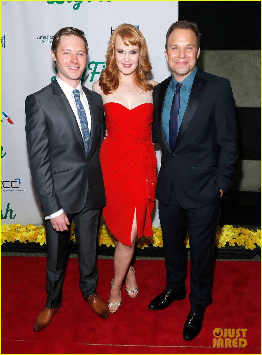 norbert leo butz kate baldwin big fish opening night 032967772