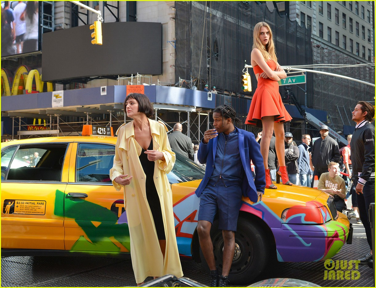 cara delevingne dkny shoot with asap rocky jourdan dunn 152972334