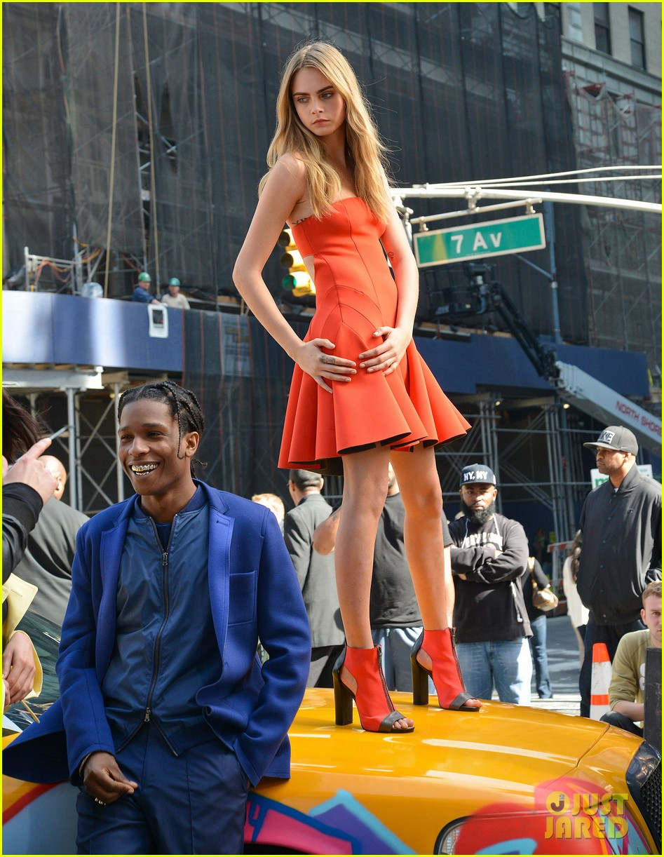 cara delevingne dkny shoot with asap rocky jourdan dunn 162972335