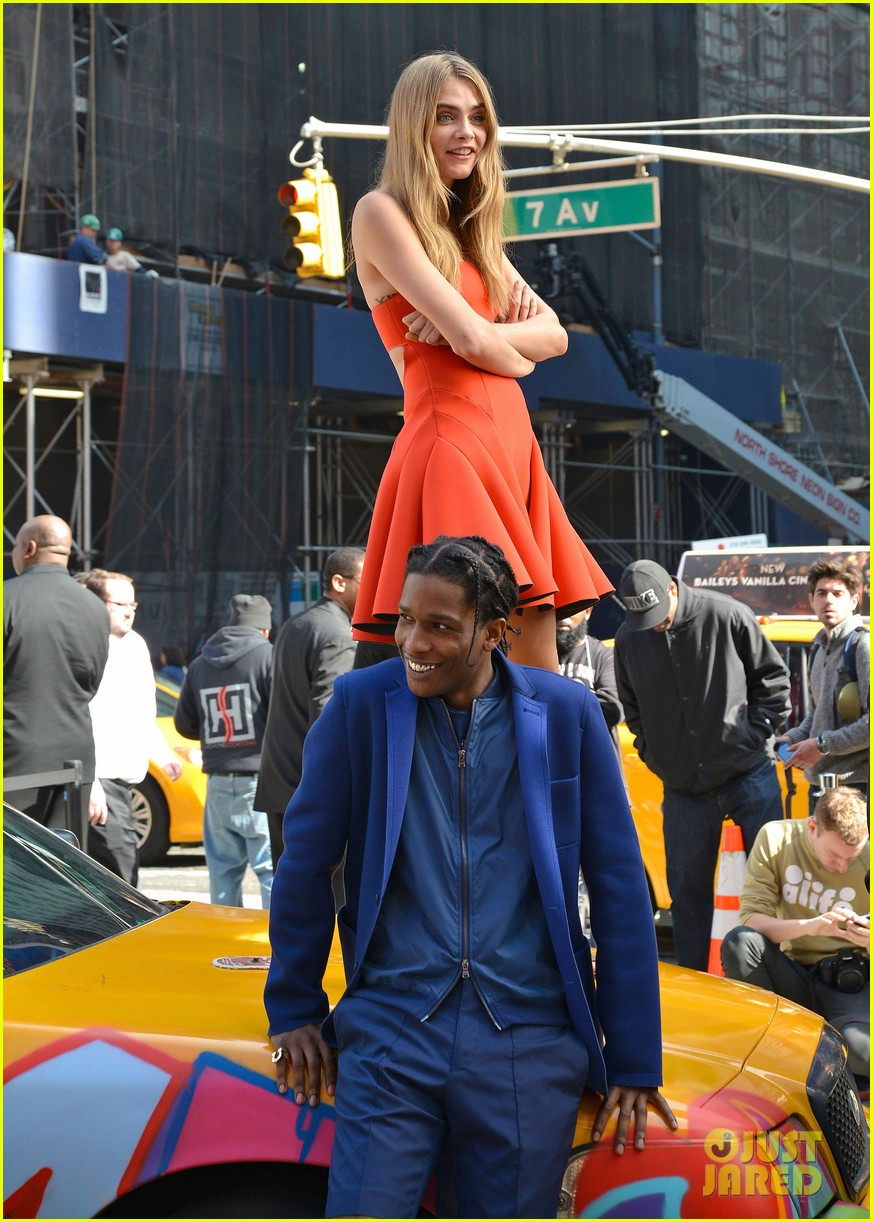 cara delevingne dkny shoot with asap rocky jourdan dunn 202972339