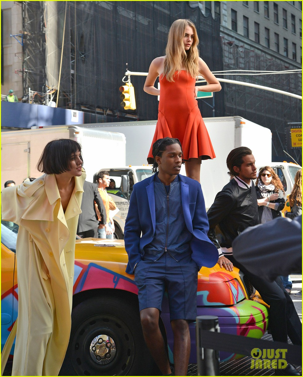 cara delevingne dkny shoot with asap rocky jourdan dunn 212972340