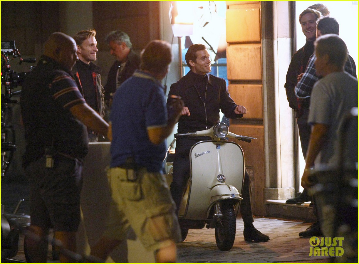henry cavill armie hammer vespa ride for uncle 052965817