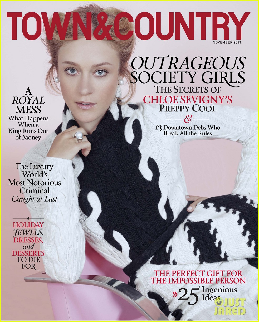 chloe sevigny covers town country november 2013 042965308