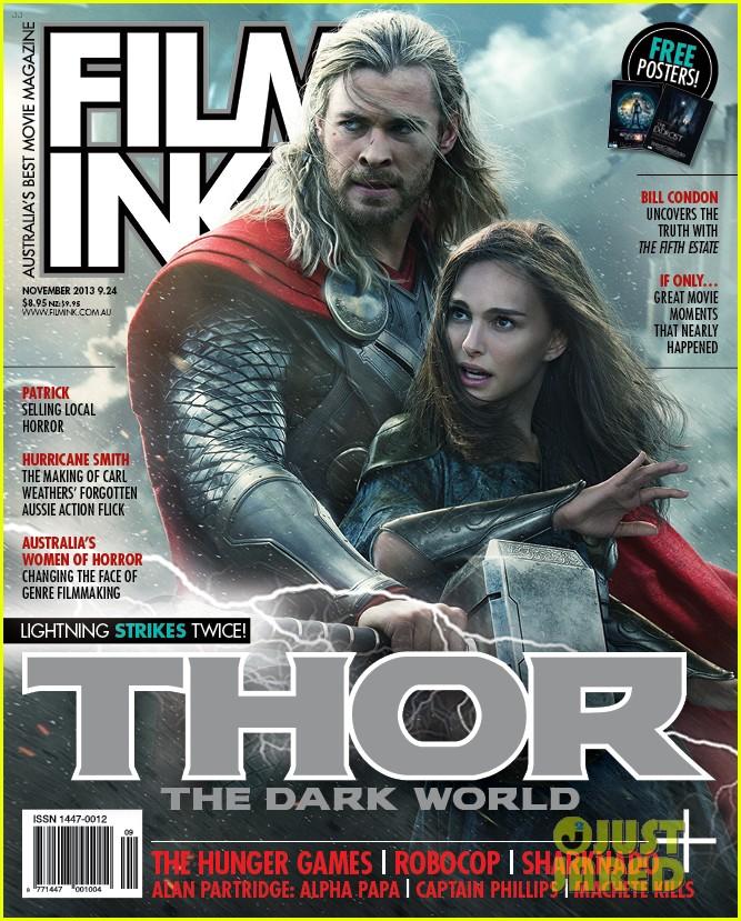 chris hemsworth natalie portman thor covers filmink november 2013 012975953