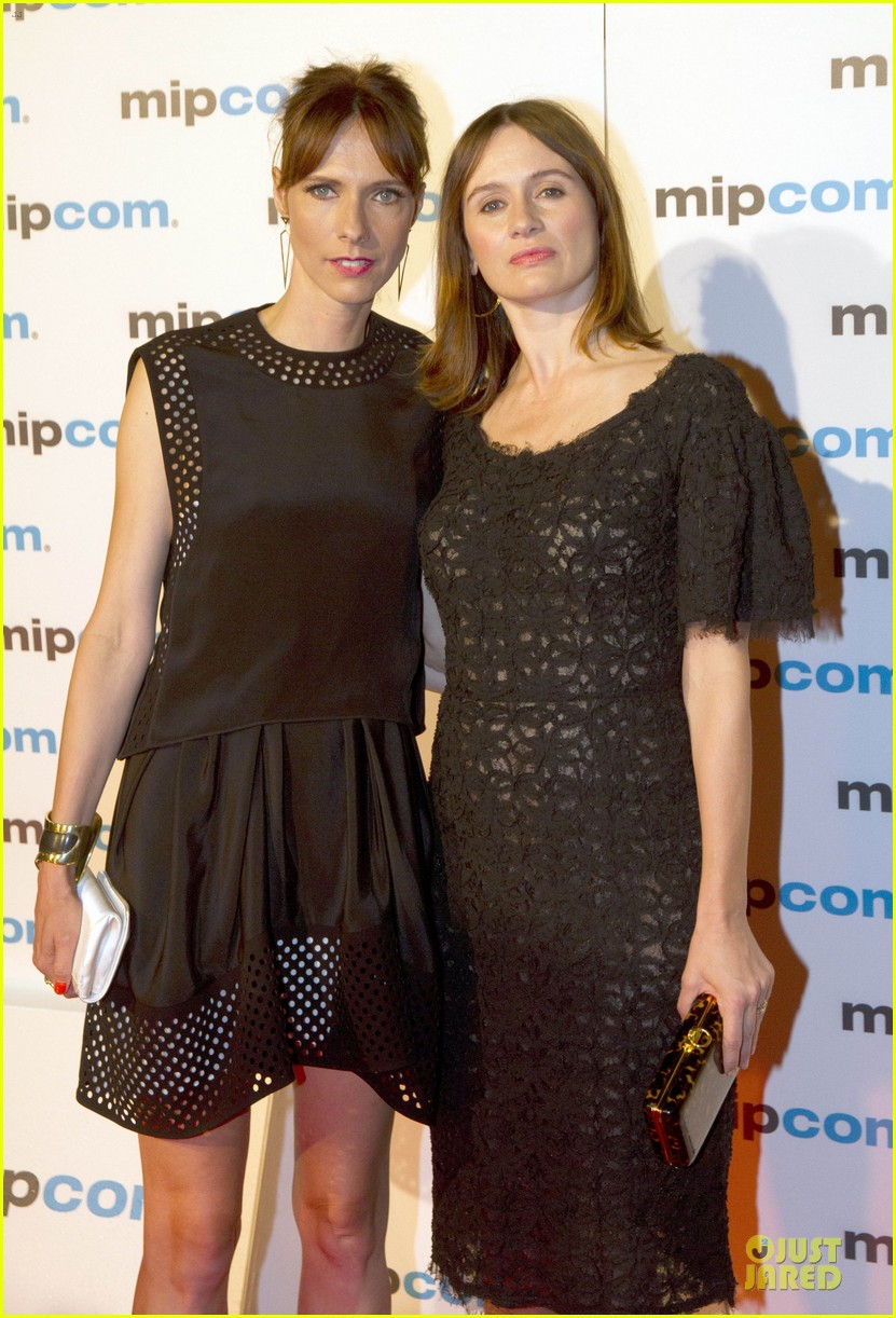abby cornish emily mortimer mipcom party 042968580