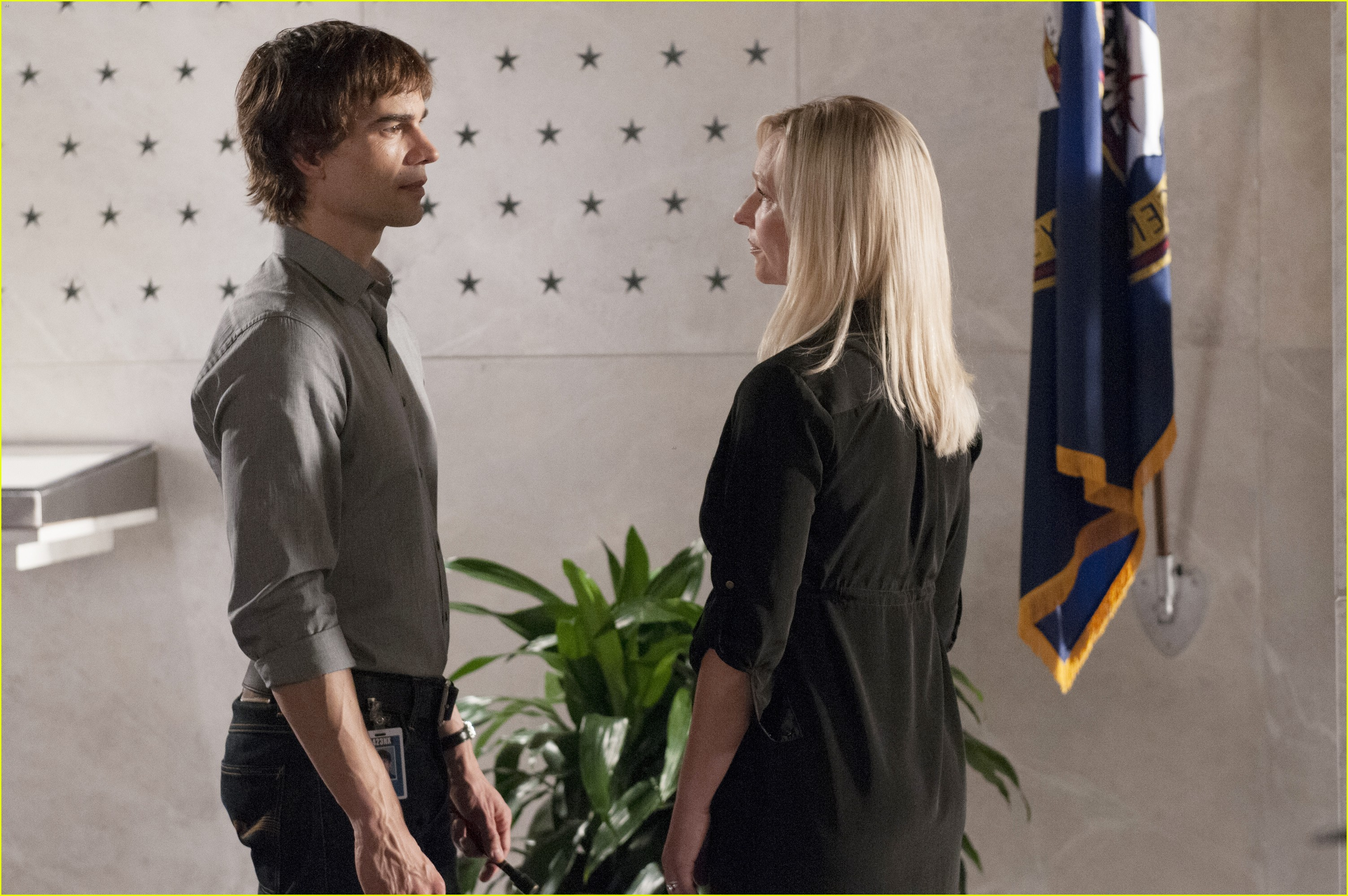 covert affairs exclusive clip joan confronts auggie 062977295