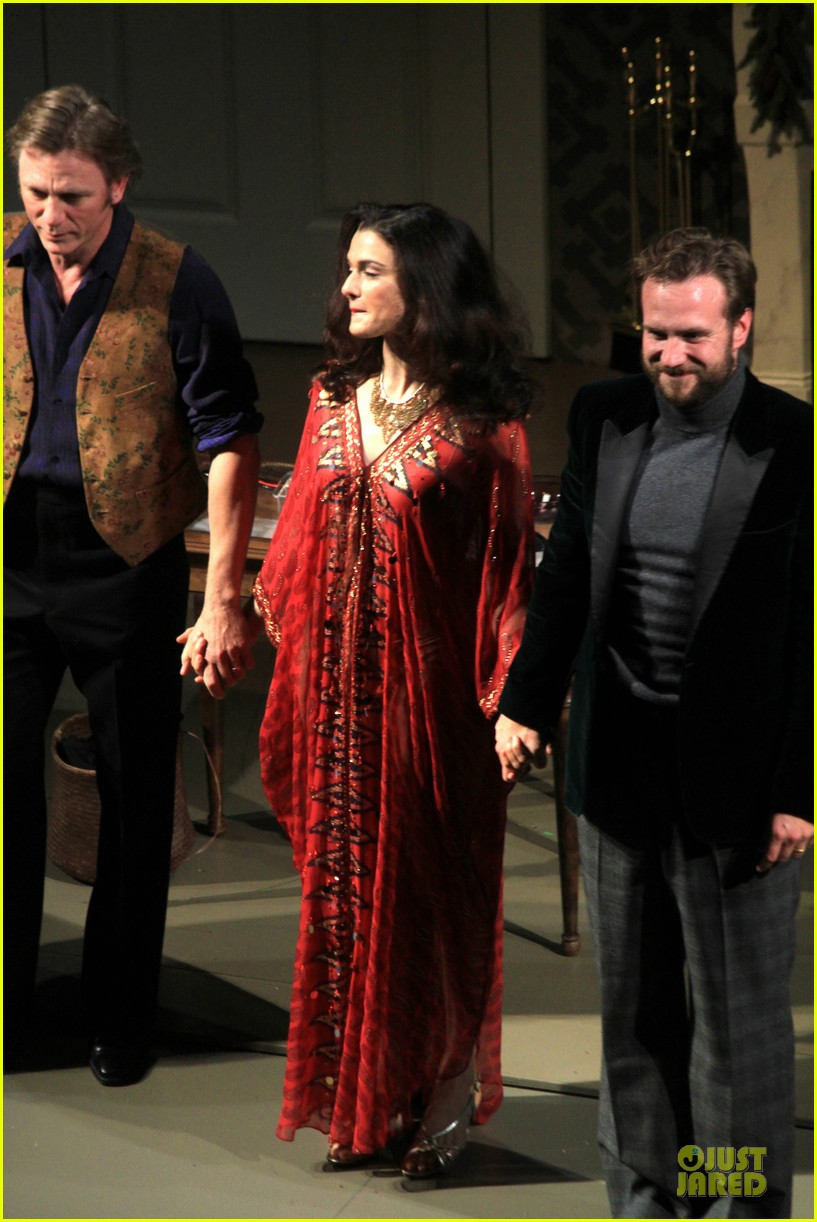 daniel craig rachel weisz betrayal first preview performance 052964239