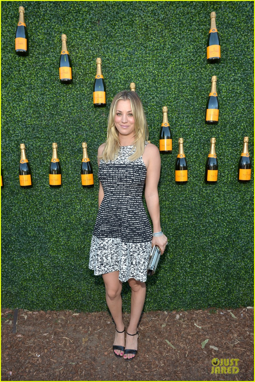 kaley cuoco ryan sweeting veuve clicquot polo classic kiss 152966908