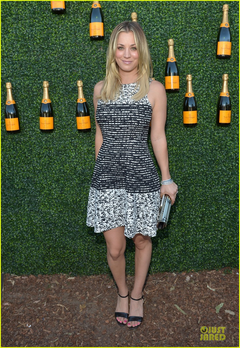 kaley cuoco ryan sweeting veuve clicquot polo classic kiss 162966909