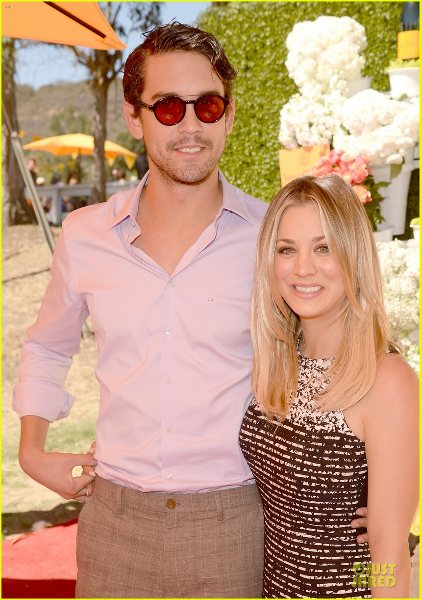 kaley cuoco ryan sweeting veuve clicquot polo classic kiss 182966911