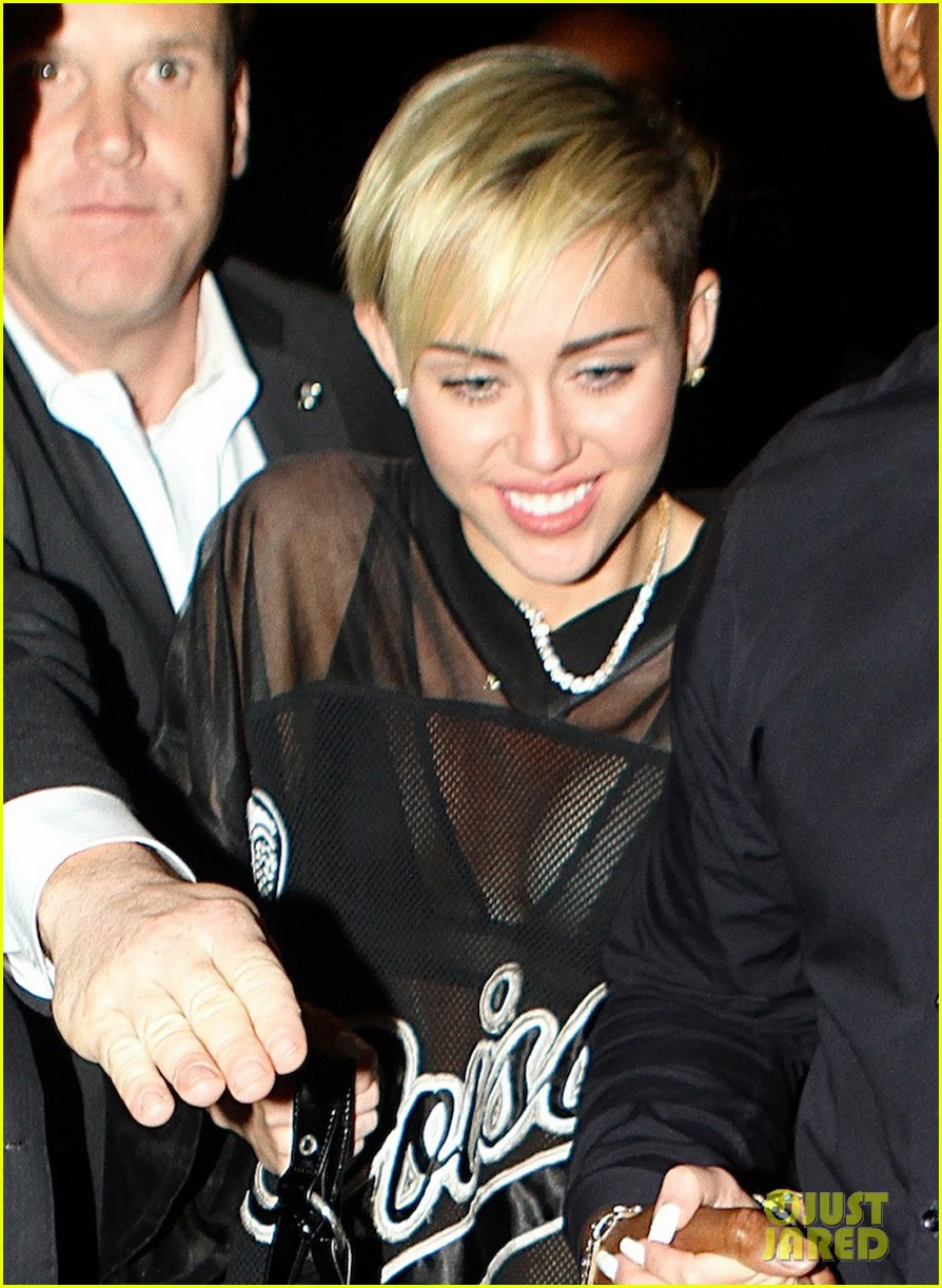 miley cyrus saturday night live after party in sheer outfit 012967207