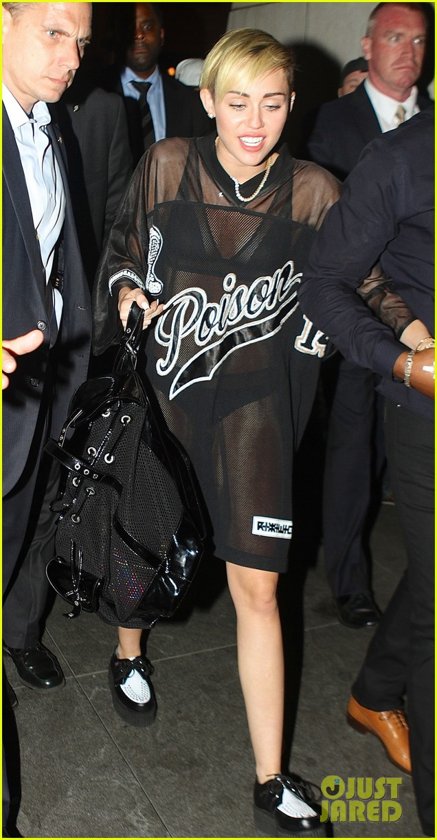 miley cyrus saturday night live after party in sheer outfit 022967208