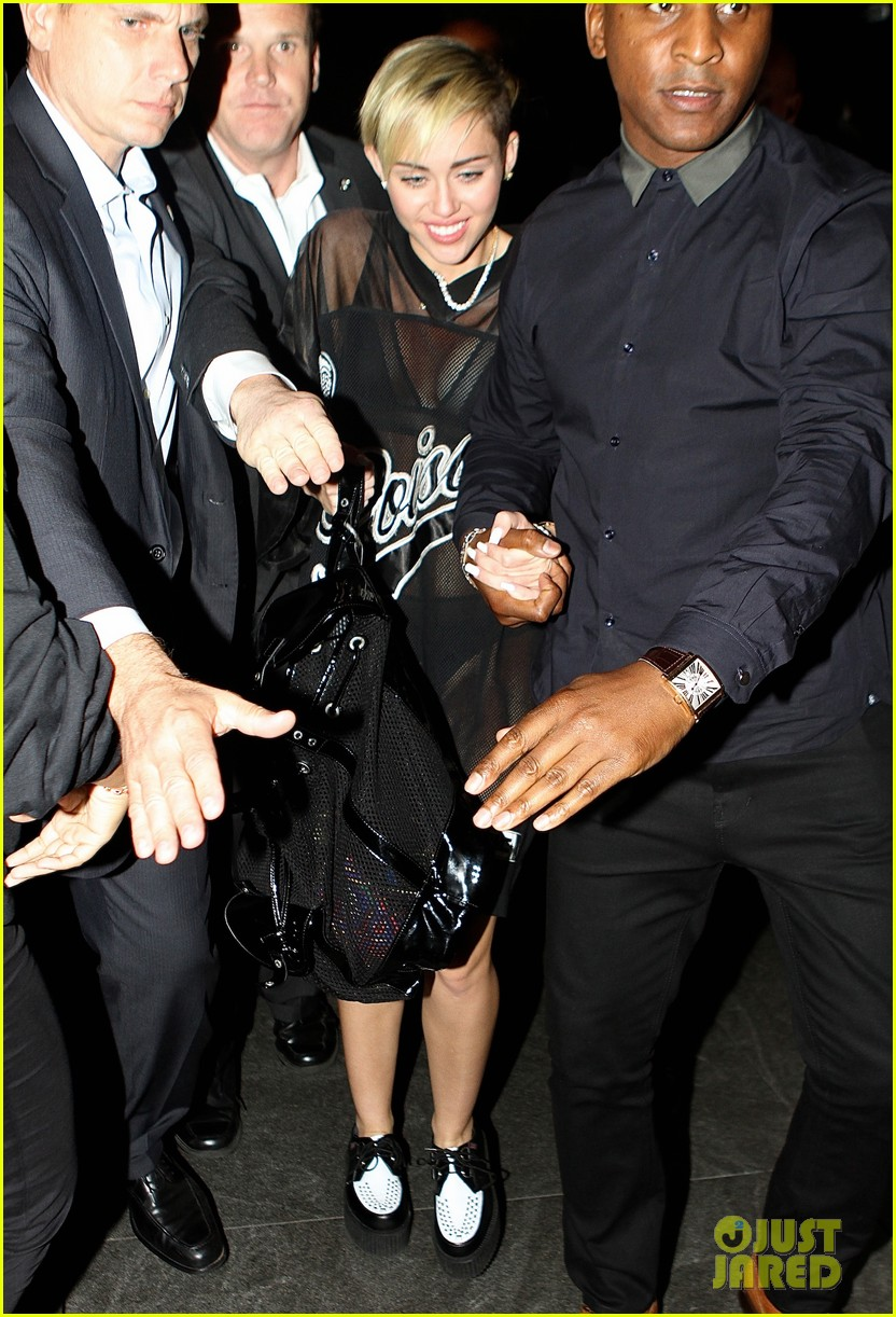 miley cyrus saturday night live after party in sheer outfit 042967210