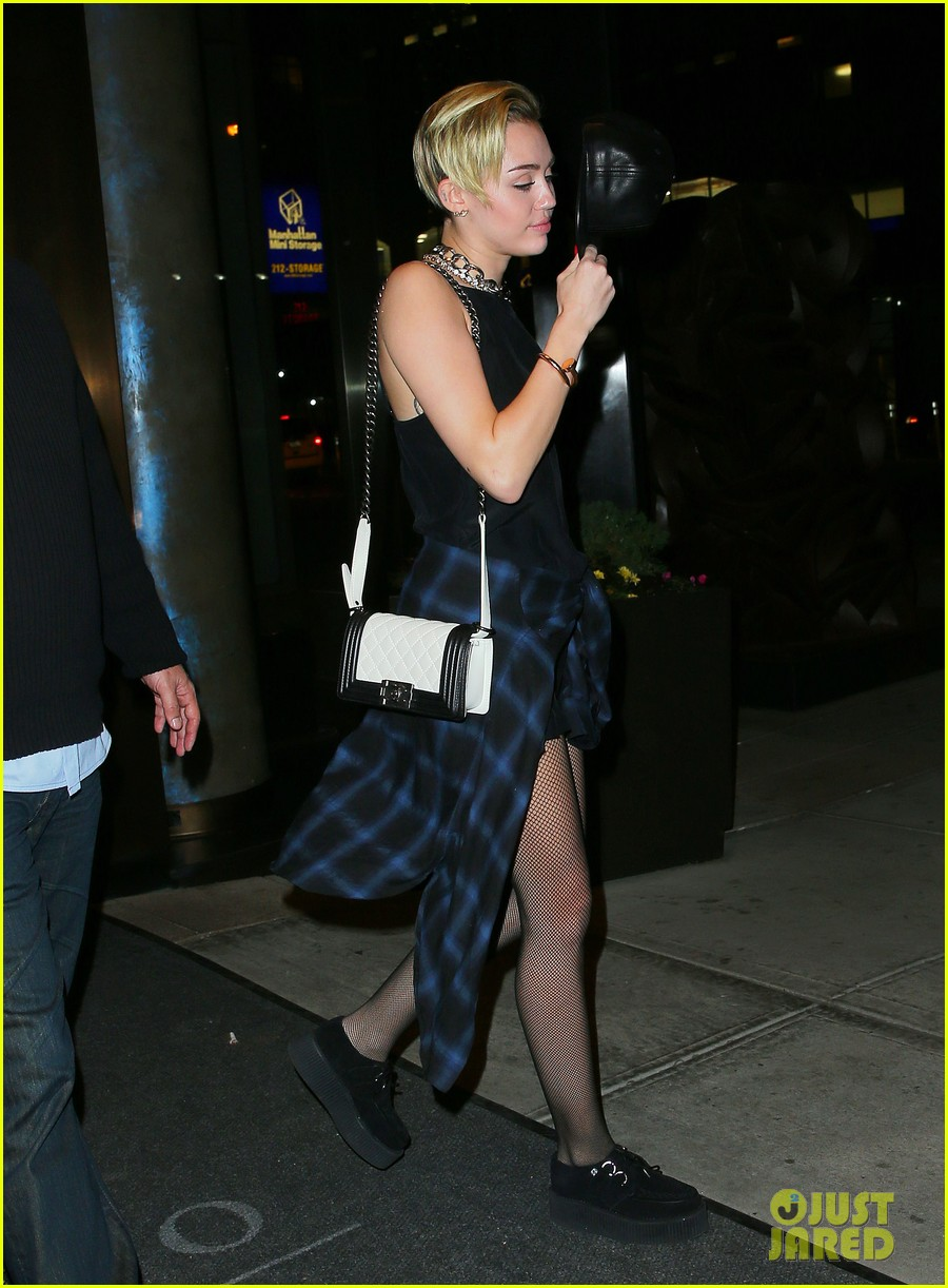 miley cyrus beatrice inn after night of stars gala 2013 022977520