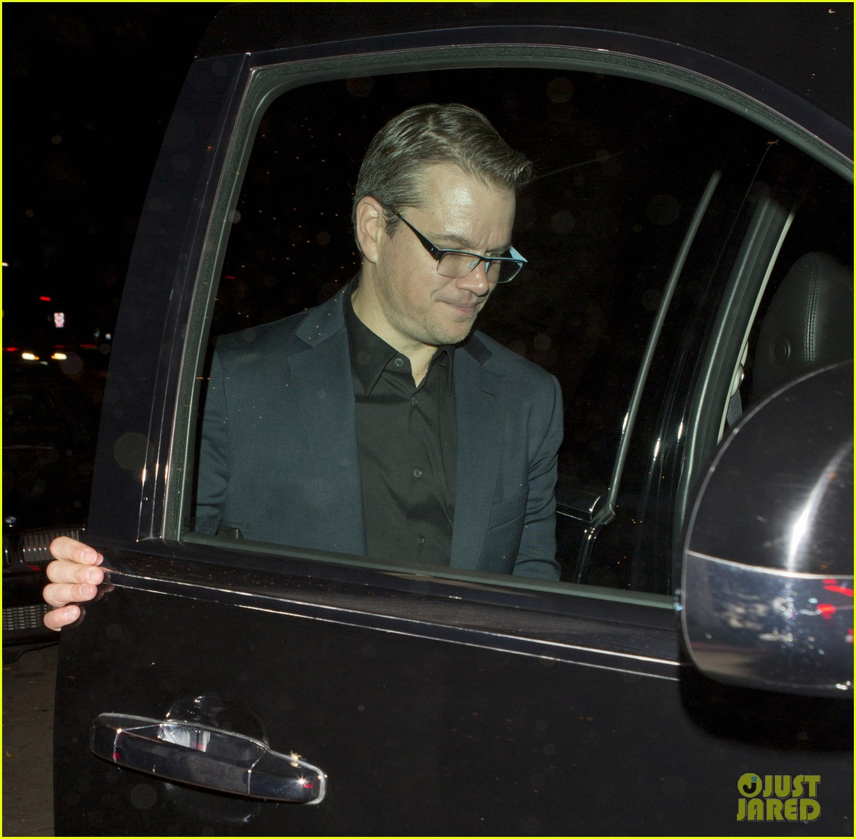 matt damon has run in with couch at il cielo 022974500