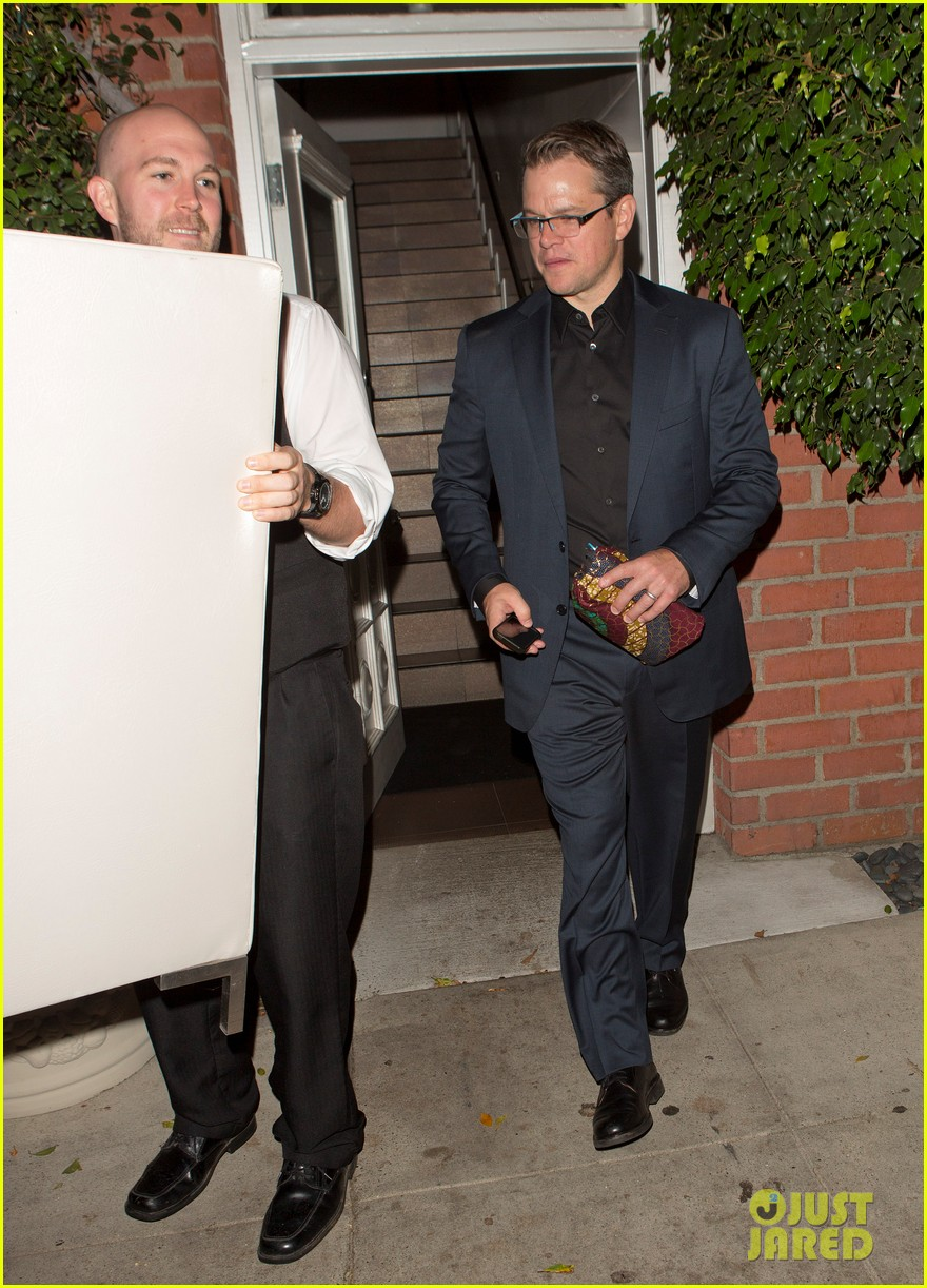 matt damon has run in with couch at il cielo 052974503