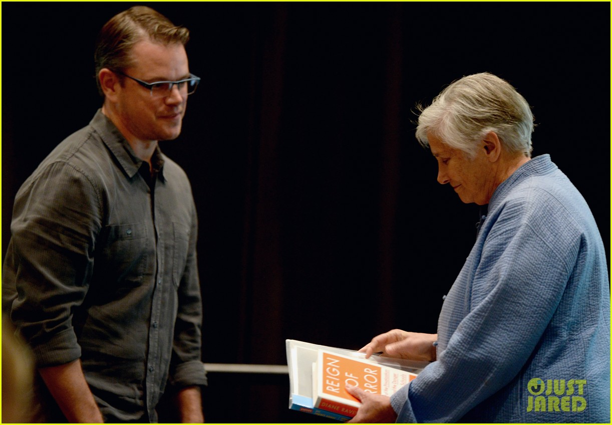 matt damon education on the edge lecture series 112965050