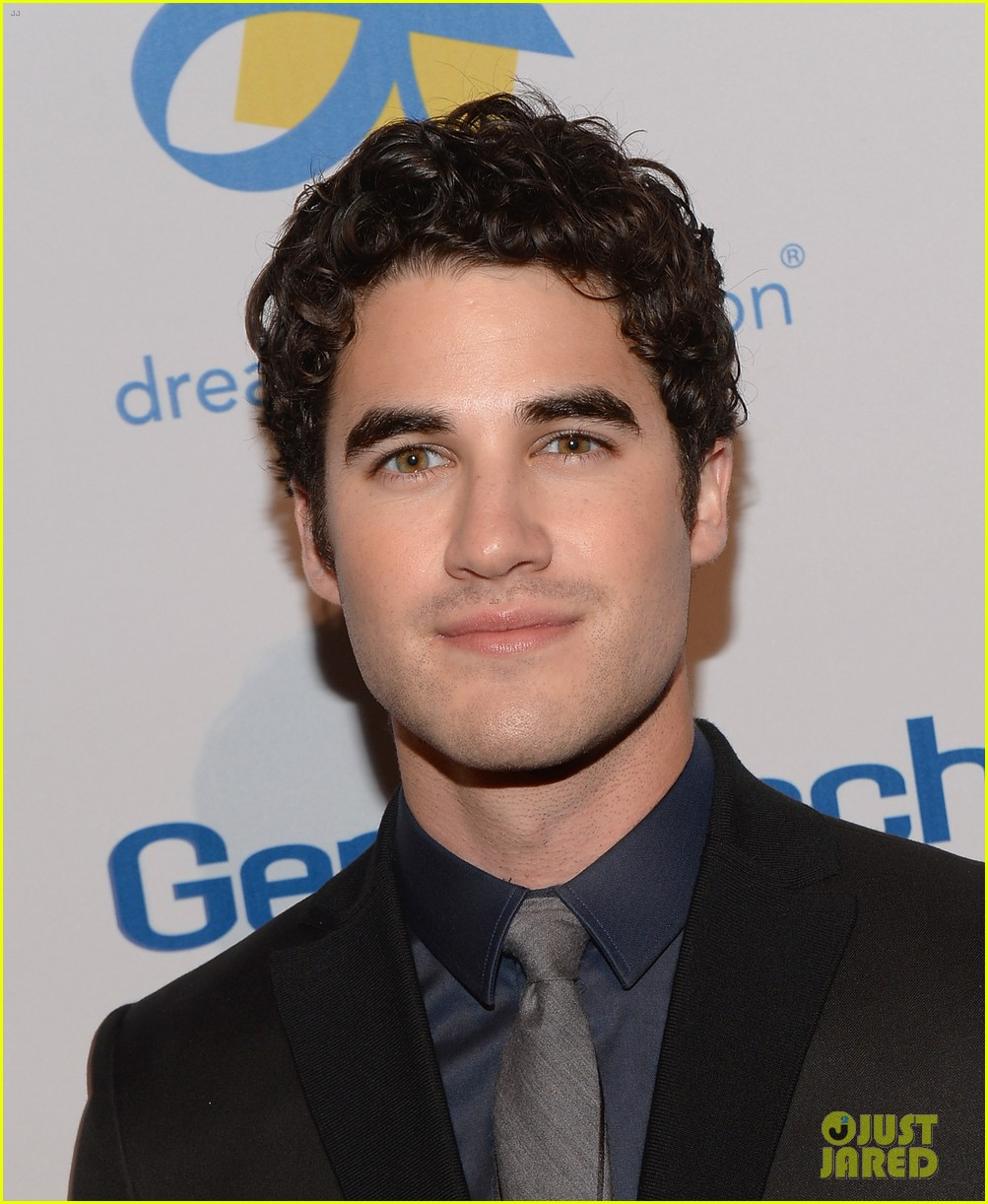 darren criss jane lynch celebration of dreams gala 2013 05
