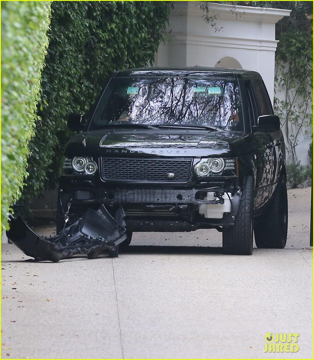 david beckham crashes car after weho workout 052980589