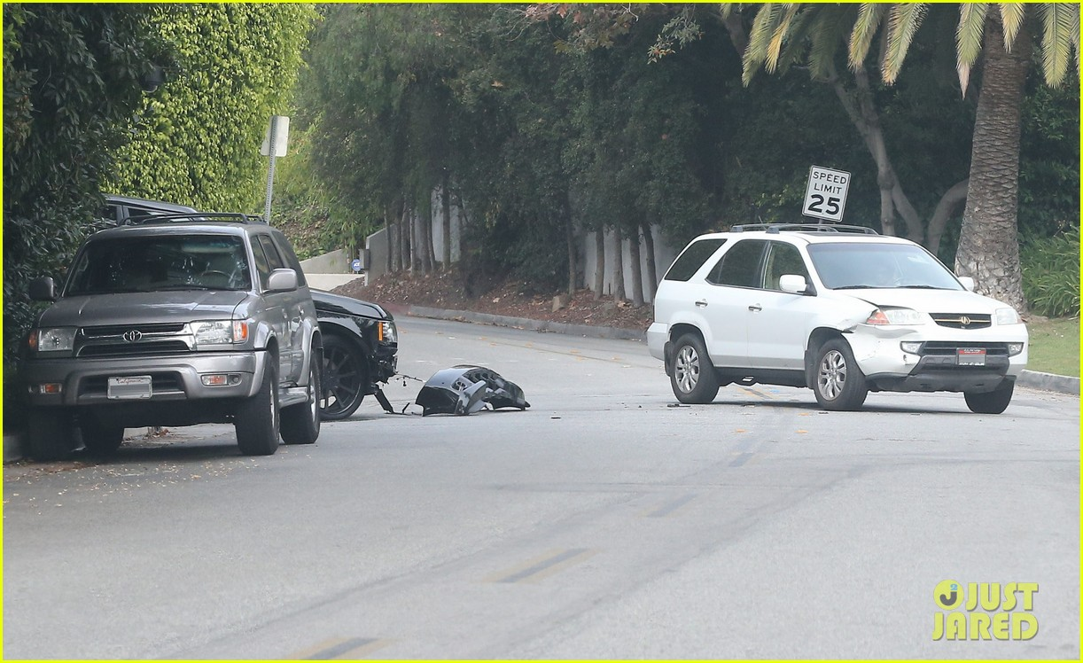 david beckham crashes car after weho workout 072980591