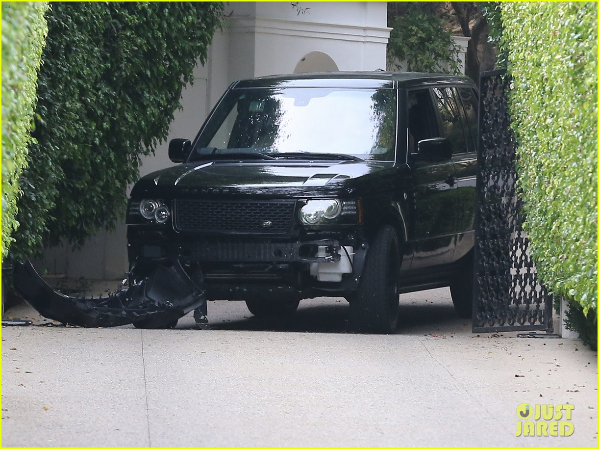 david beckham crashes car after weho workout 092980593