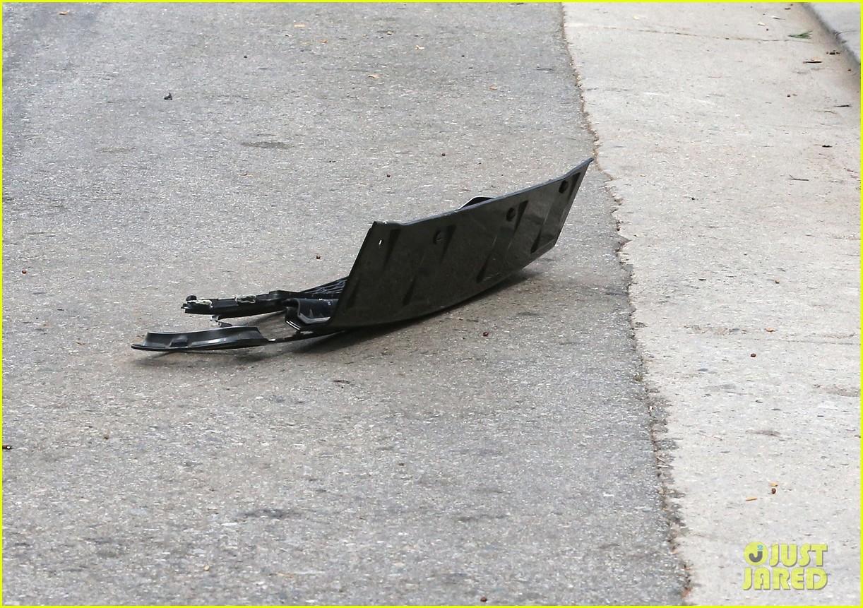 david beckham crashes car after weho workout 112980595