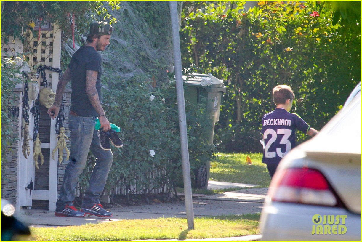 david beckham sunday soccer practice cruz 102975770
