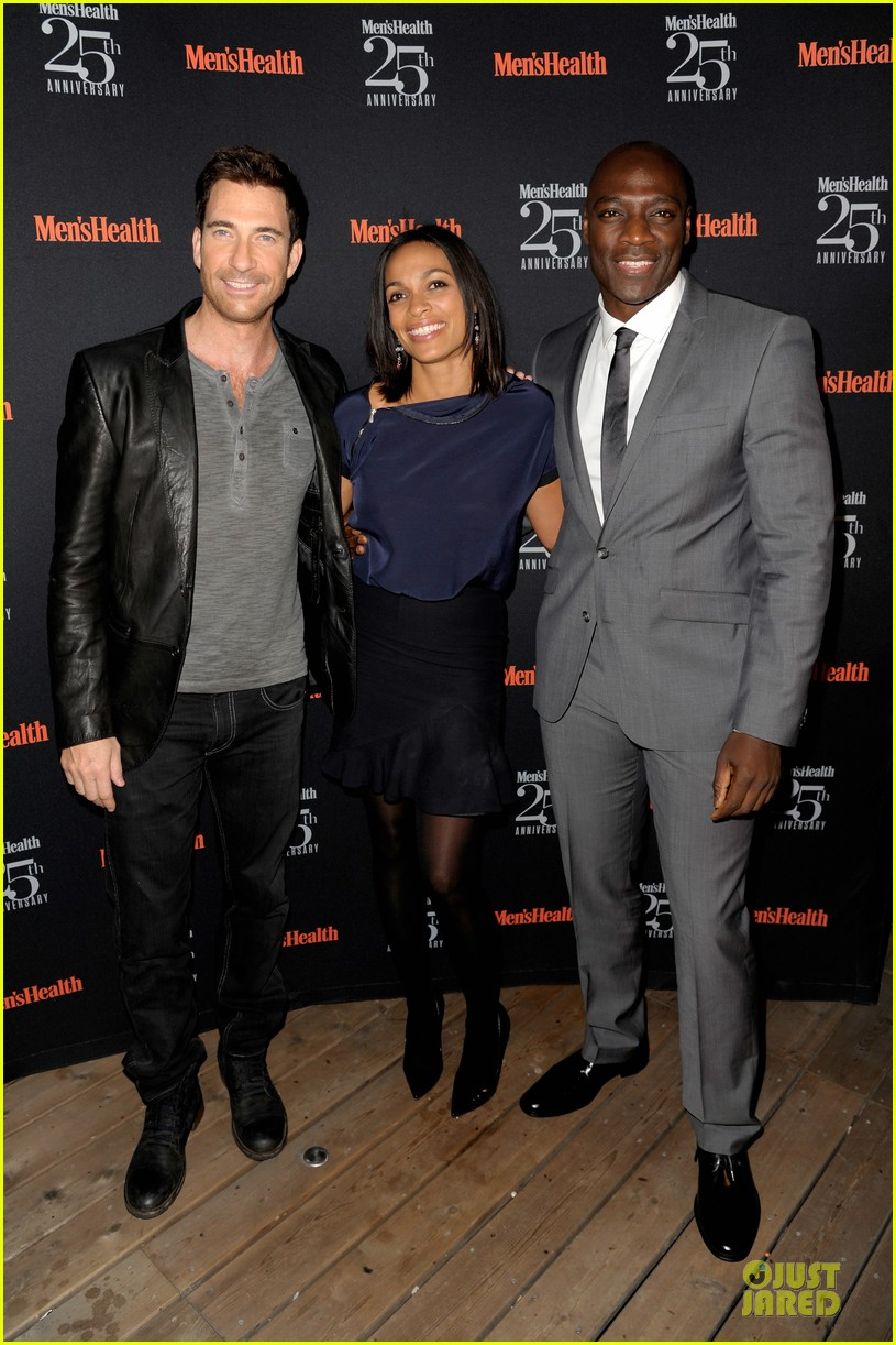 rosario dawson taye diggs men health celebration 012969330