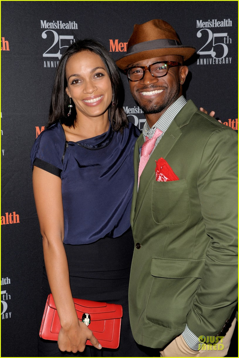 rosario dawson taye diggs men health celebration 062969335