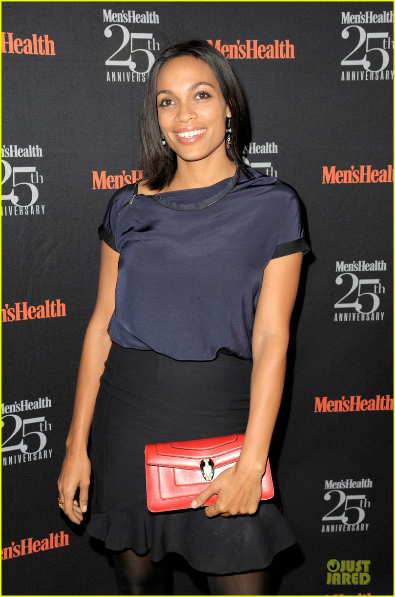 rosario dawson taye diggs men health celebration 152969344