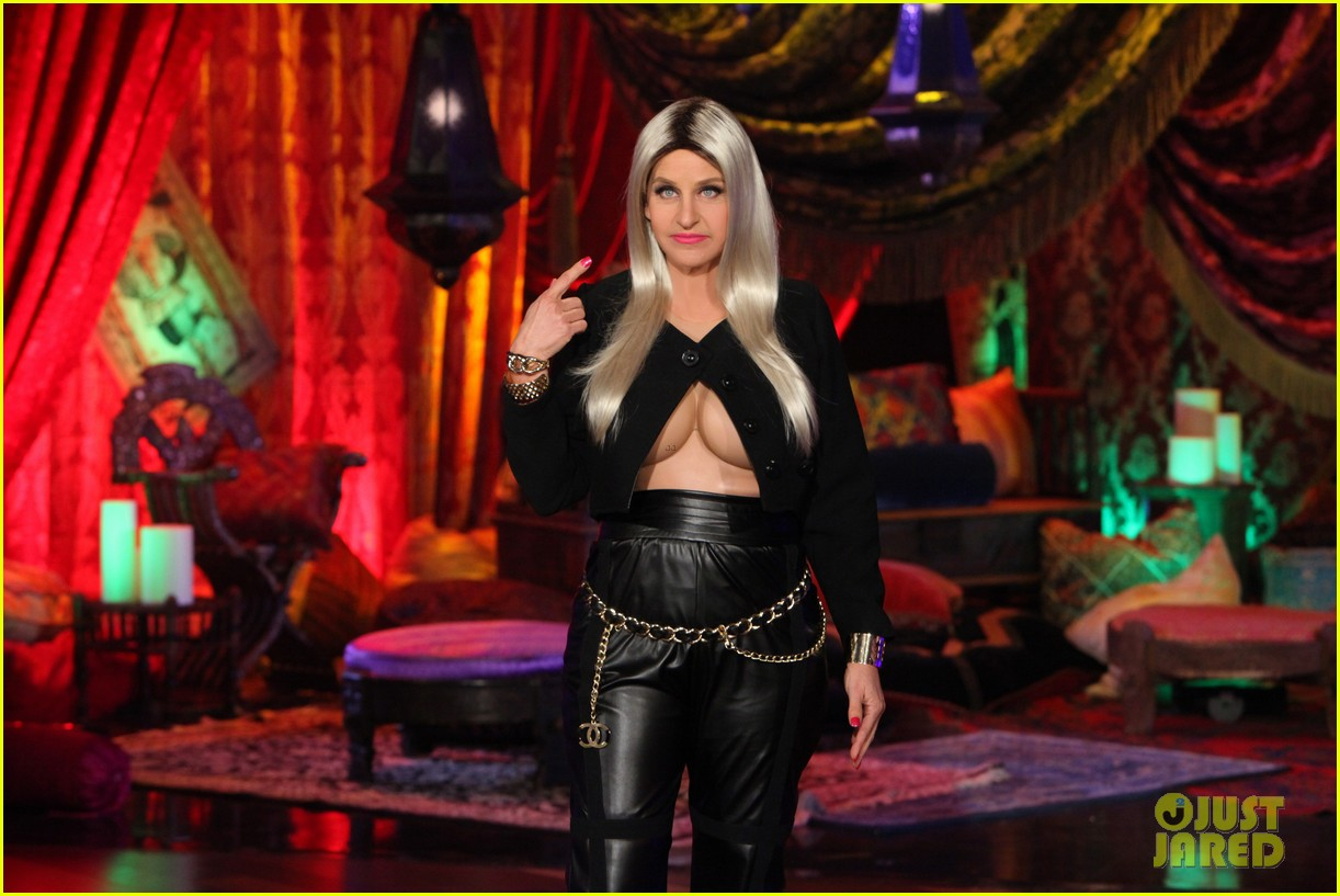 ellen degeneres nicki minaj costume for halloween 2013 022983314