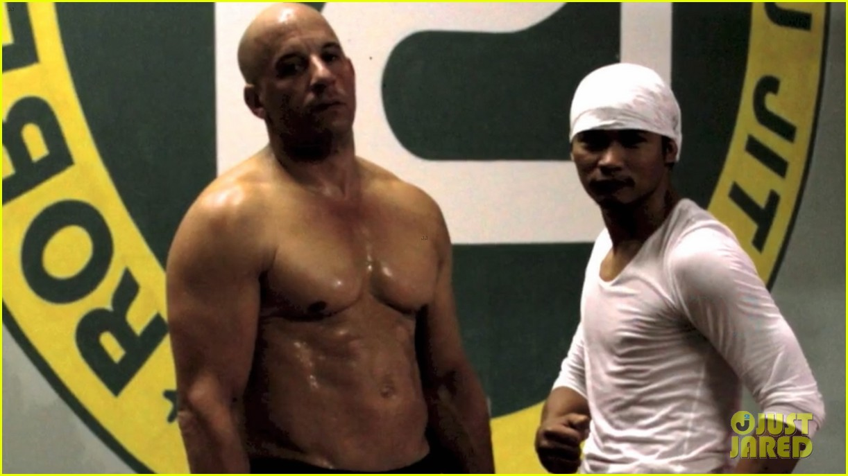 vin diesel flaunts ripped shirtless body for combat training 012976501