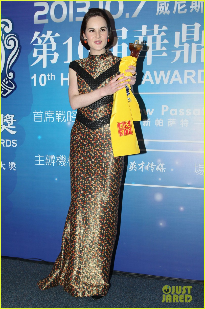 michelle dockery sam worthington huading awards 2013 142968281