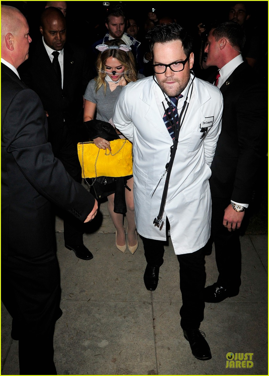 hilary duff mike comrie casamigos halloween party 2013 012979737