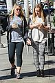 hilary duff grabs coffee with gal pal in beverly hills 05